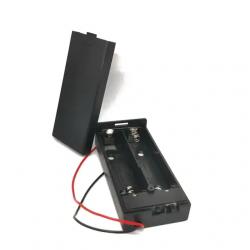 Battery holder for 2 * 18650