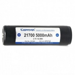 Keeppower 21700 5000mAh -...